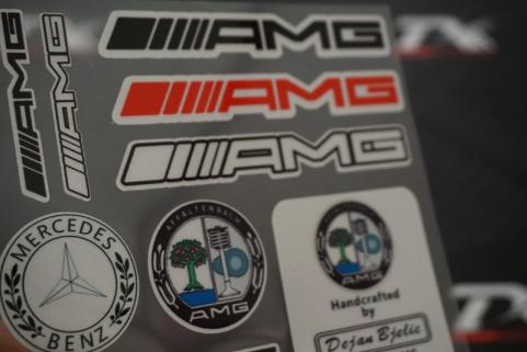 Mercedes Benz Amg Grup Sticker
