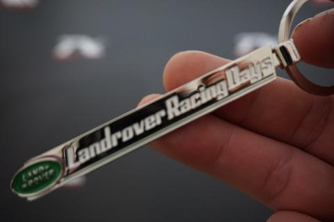 Land Rover Racing Days Logo Krom Metal Anahtarlık